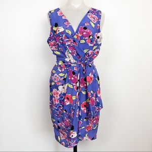 Yumi Kim   NWT Floral Dress Blue Sleeveless